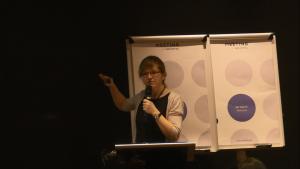 """Dr Marta Lipowska Konferencja """"Programy lekowe w neurologii"""" fot. ŚWIECZAK"""