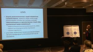 """Dr hab. med. Anna Kostera-Pruszczyk Konferencja """"Programy lekowe w neurologii"""" fot. ŚWIECZAK"""
