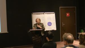 """Prof. dr hab. med. Anna Kamińska Konferencja """"Programy lekowe w neurologii"""" fot. ŚWIECZAK"""