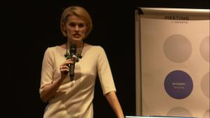 """dr prawa, dr hab. n. o zdrowiu Justyna Zajdel Konferencja """"Programy lekowe w neurologii"""" fot. ŚWIECZAK"""