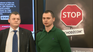 """Konferencja prasowa ws. akcji """"Stop uchodźcom"""" fot. ŚWIECZAK"""