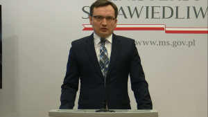 Zbigniew Ziobro Minister Sprawiedliwości  100 dni dobrych zmian w Ministerstwie Sprawiedliwości fot. ŚWIECZAK