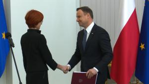"""Prezydent Duda podpisał ustawę """"Rodzina 500 plus"""" fot. ŚWIECZAK"""