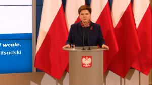 Premier Beata Szydło Rząd przyjął Plan na rzecz Odpowiedzialnego Rozwoju fot. ŚWIECZAK