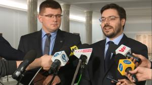 Stanisław Tyszka po spotkaniu z członkami Komisji Weneckiej fot. ŚWIECZAK