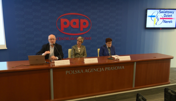 """Konferencja prasowa pt. """"Światowy Dzień Nerek. Działaj wcześnie by zapobiegać"""" fot. ŚWIECZAK"""