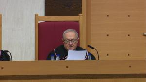 Sędzia TK prof. Stanisław Biernat Trybunał Konstytucyjny ogłosił wyrok w sprawie nowelizacji ustawy o TK autorstwa PiS: niezgodna z konstytucją fot. ŚWIECZAK
