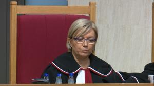 sędzia Julia Przyłębska Trybunał Konstytucyjny ogłosił wyrok w sprawie nowelizacji ustawy o TK autorstwa PiS: niezgodna z konstytucją fot. ŚWIECZAK