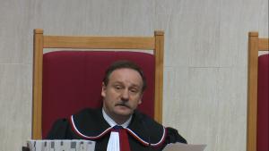 Sędzia TK Piotr Pszczółkowski Trybunał Konstytucyjny ogłosił wyrok w sprawie nowelizacji ustawy o TK autorstwa PiS: niezgodna z konstytucją fot. ŚWIECZAK