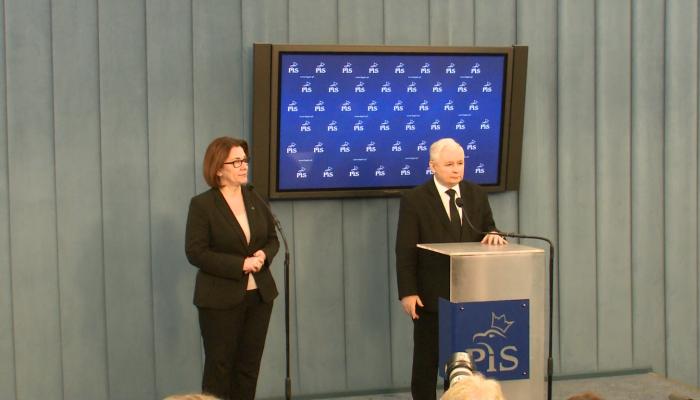 Kaczyński po spotkaniu z liderami partii: Mam dla państwa dobrą wiadomość.. fot. ŚWIECZAK