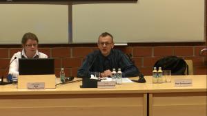 Dr hab. Przemysław Konieczniak, XVII Konferencja Wydziałowa pt.: ŹRÓDŁA PRAWA. TEORIA I PRAKTYKA fot. ŚWIECZAK