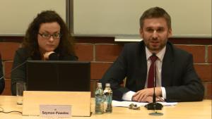 Dr Szymon Pawelec XVII Konferencja Wydziałowa pt.: ŹRÓDŁA PRAWA. TEORIA I PRAKTYKA fot. ŚWIECZAK