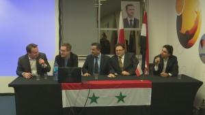 """Sympozjum pt.: """" Ręka w rękę zbudujemy Syrię jutra"""" fot. ŚWIECZAK"""