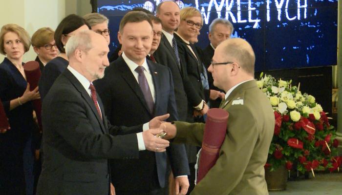 Prezydent Andrzej Duda mianował na stopnie generalskie fot. ŚWIECZAK