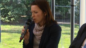 Katarzyna Soszka-Ogrodnik, rzecznik prasowy Polsko-Niemieckiej Izby Przemysłowo-Handlowej Konferencja Made in Poland fot. ŚWIECZAK