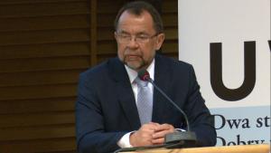 prof. dr hab. Krzysztof Rączka, dziekan Wydziału Prawa i Administracji UW Sąd konstytucyjny w państwie demokratycznym fot. ŚWIECZAK