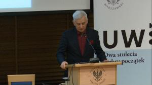 dr Bohdan Zdziennicki Sąd konstytucyjny w państwie demokratycznym fot. ŚWIECZAK