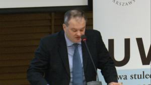 prof. dr hab. Robert Jastrzębski Sąd konstytucyjny w państwie demokratycznym fot. ŚWIECZAK