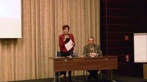 prof. Ewa Żukowska-Szczechowska prof. Michał Myśliwiec Światowy Dzień Nerek 2016 fot. ŚWIECZAK