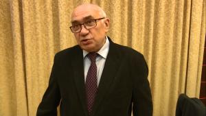 Prof. Bolesław Rutkowski Światowy Dzień Nerek 2016 fot. ŚWIECZAK