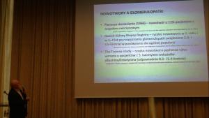 Prof. Ryszard Gellert Światowy Dzień Nerek 2016 fot. ŚWIECZAK