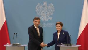 Minister sprawiedliwości Zbigniew Ziobro, od jutra prokuratorem generalnym fot. ŚWIECZAK