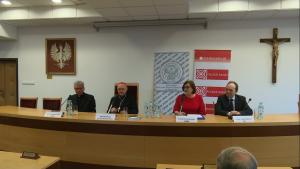 Konferencja prasowa kard. Kazimierza Nycza o obchodach Milenium Chrztu Polski. fot. ŚWIECZAK