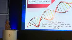 Prof. Draga Toncheva, Head of the Department of Medical Genetics, I Międzynarodowe Forum Medycyny Personalizowanej fot. ŚWIECZAK