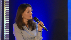 Dr hab. Anna Wójcicka I Międzynarodowe Forum Medycyny Personalizowanej fot. ŚWIECZAK