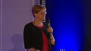 Prof. Renata Langfort, I Międzynarodowe Forum Medycyny Personalizowanej fot. ŚWIECZAK