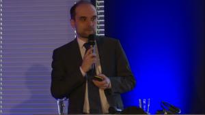 Prof. Paweł Krawczyk, I Międzynarodowe Forum Medycyny Personalizowanej fot. ŚWIECZAK