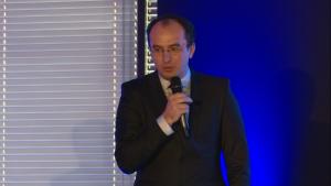 Dr Marius Geantă, I Międzynarodowe Forum Medycyny Personalizowanej fot. ŚWIECZAK
