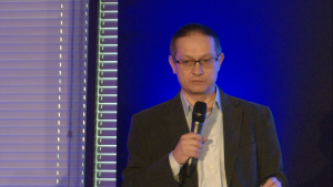 prof. Paweł Łuków, I Międzynarodowe Forum Medycyny Personalizowanej fot. ŚWIECZAK