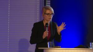 Maria Libura, I Międzynarodowe Forum Medycyny Personalizowanej fot. ŚWIECZAK