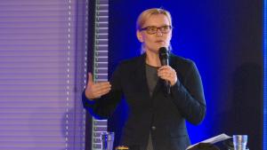 Dr Joanna Różyńska, I Międzynarodowe Forum Medycyny Personalizowanej fot. ŚWIECZAK