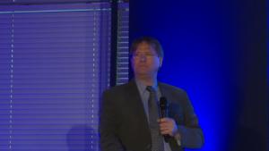 Dr Ferenc Oberfrank I Międzynarodowe Forum Medycyny Personalizowanej fot. ŚWIECZAK
