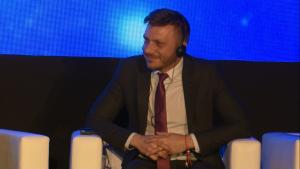 Dr Stanimir Hasurdjiev I Międzynarodowe Forum Medycyny Personalizowanej fot. ŚWIECZAK