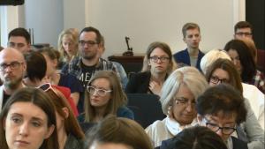 """Konferencja """"Pełny dostęp do ochrony zdrowia. Potrzeby i prawa zdrowotne osób LGBT"""" fot. ŚWIECZAK"""