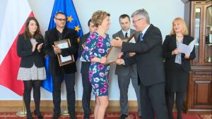 XIII edycja konkursu o nagrodę Marszałka Senatu dla dziennikarzy polskich i polonijnych fot. ŚWIECZAK