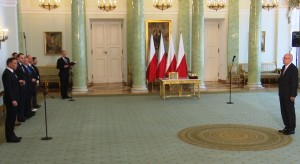 Prezydent Andrzej Duda przyjął ślubowanie od nowego sędziego TK Zbigniewa Jędrzejewskiego fot. ŚWIECZAK