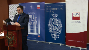 dr Rafał Łatka Konferencja w UKSW pt: Obchody milenium na uchodźstwie – w pięćdziesiątą rocznicę fot. ŚWIECZAK