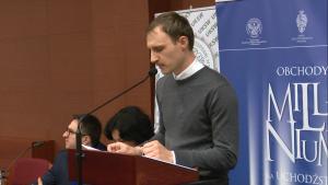 Krzysztof Osowiecki Konferencja w UKSW pt: Obchody milenium na uchodźstwie – w pięćdziesiątą rocznicę fot. ŚWIECZAK