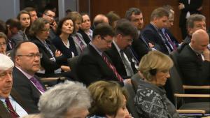 """70 lat """"Państwa i Prawa"""" konferencja pt. """"Kultury uzasadnień sądowych: zasada proporcjonalności w ujęciu porównawczoprawnym"""" fot. ŚWIECZAK"""