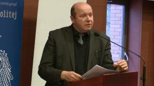 dr Piotr Kardela Konferencja w UKSW pt: Obchody milenium na uchodźstwie – w pięćdziesiątą rocznicę fot. ŚWIECZAK