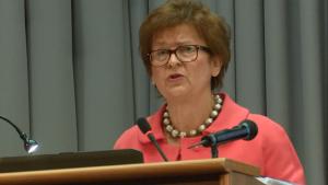 dr Alicja Adamczak, Prezes Urzędu Patentowego RP Konferencja Urzędu Patentowego RP – Wyzwania dla prawa własności intelektualnej w gospodarce cyfrowej fot. ŚWIECZAK