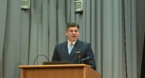 dr Paweł Pudłowski, Konferencja Urzędu Patentowego RP – Wyzwania dla prawa własności intelektualnej w gospodarce cyfrowej fot. ŚWIECZAK