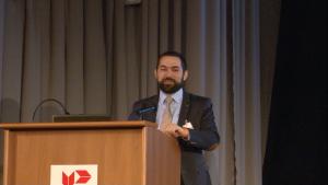dr Dominik Batorski, Konferencja Urzędu Patentowego RP – Wyzwania dla prawa własności intelektualnej w gospodarce cyfrowej fot. ŚWIECZAK