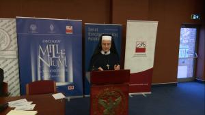 siostra Joanna Wiśniewska Konferencja w UKSW pt: Obchody milenium na uchodźstwie – w pięćdziesiątą rocznicę fot. ŚWIECZAK
