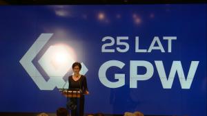Małgorzata Zaleska, Prezes GPW 25-lecie Giełdy Papierów Wartościowych Warszawie fot. ŚWIECZAK