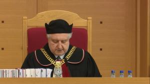 Andrzej Rzepliński Prezes TK TK: Zakres immunitetu parlamentarnego jest zgodny z Konstytucją Rzeczypospolitej Polskiej fot. ŚWIECZAK